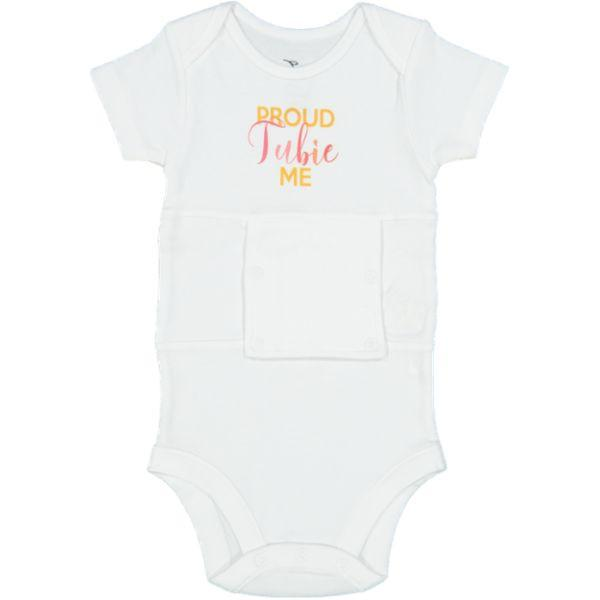 PROUD TUBIE ME (girls) Feeding Tube Onesie