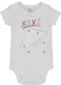 XOXO Feeding Tube Onesie
