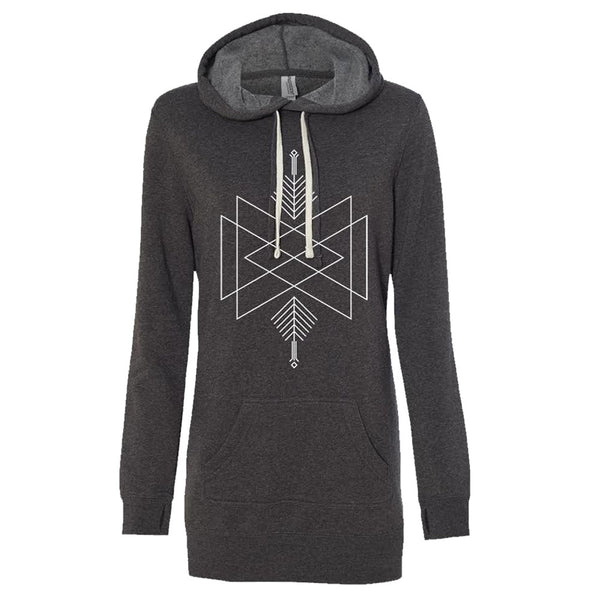 Seven Lions -  Women's Pullover Hoodie Dress