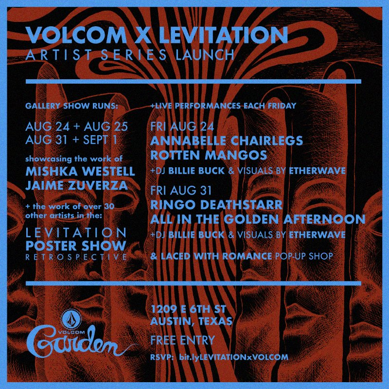 VOLCOM x LEVITATION – WEEKEND TWO