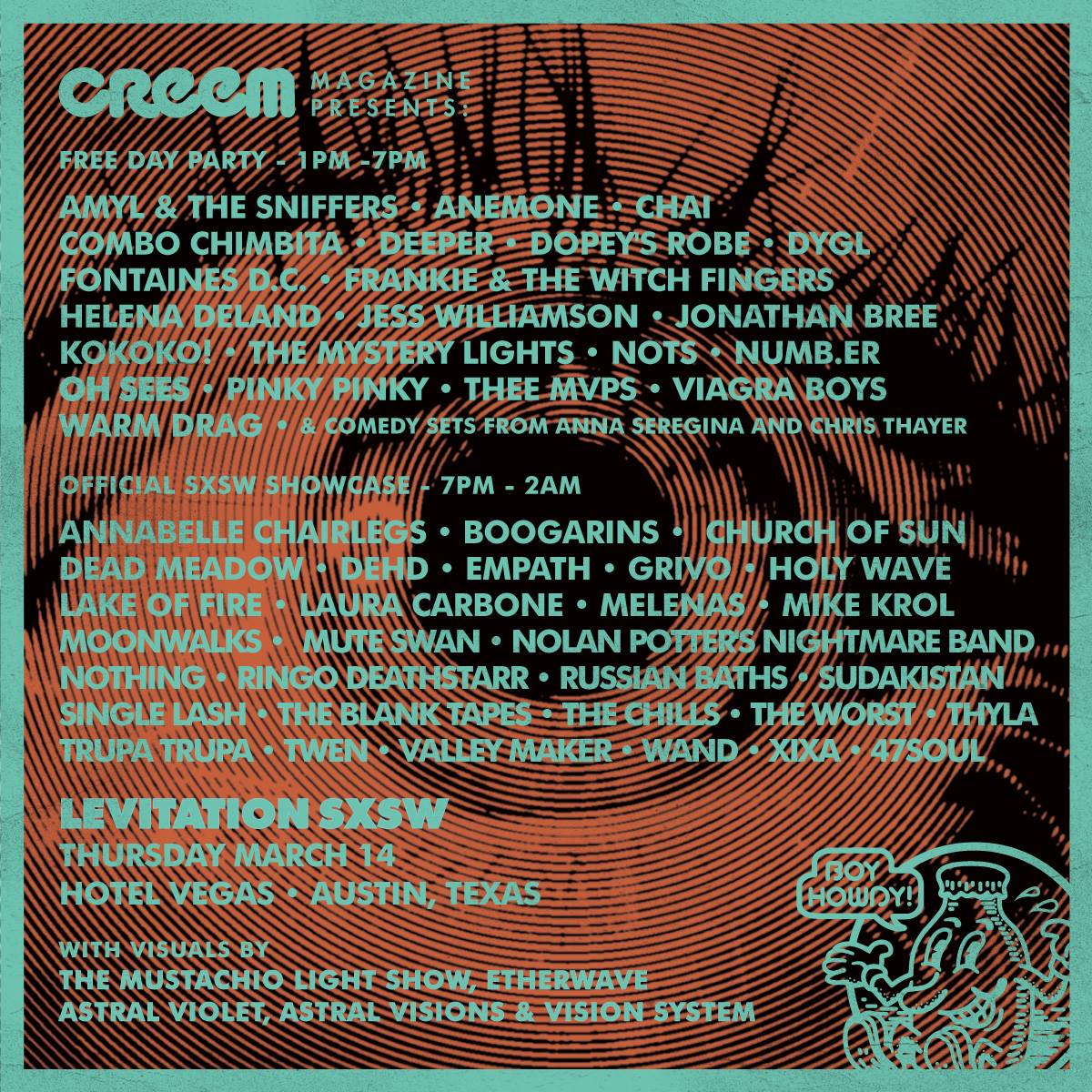 LEVITATION SXSW 2019 presented by Creem Magazine