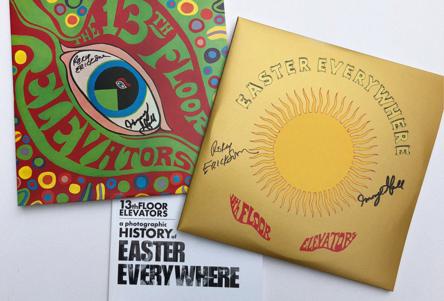 signed 13th Floor Elevators LPs