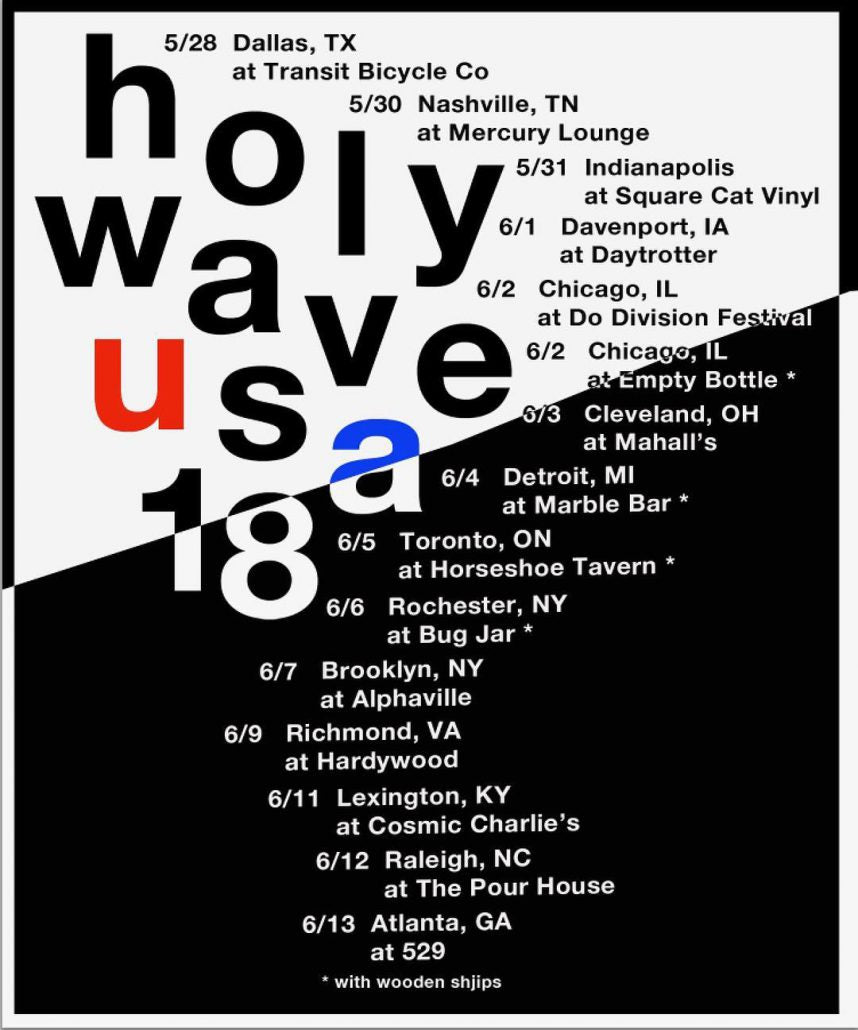 HOLY WAVE – headin' EAST