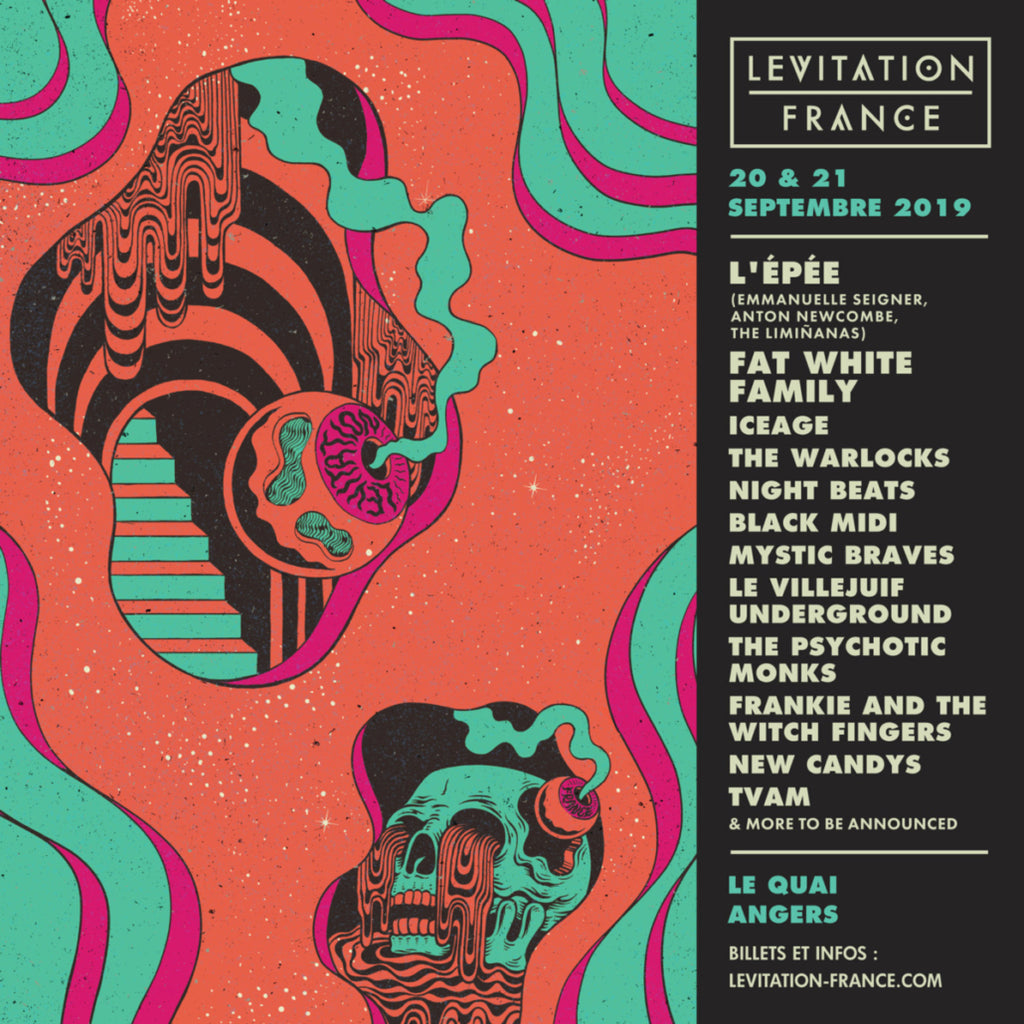 LEVITATION FRANCE 2019 – lineup & tickets