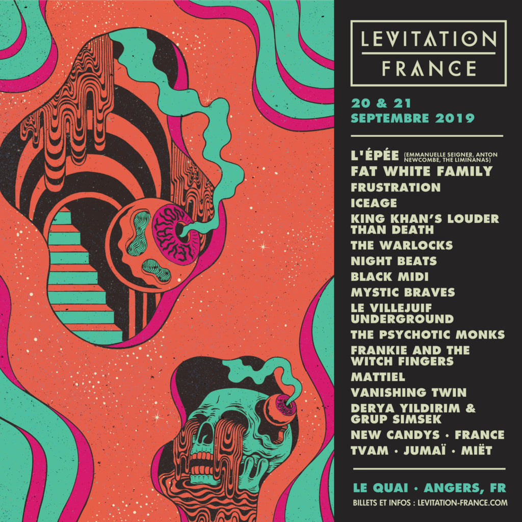 LEVITATION FRANCE 2019 – lineup updates + official playlist