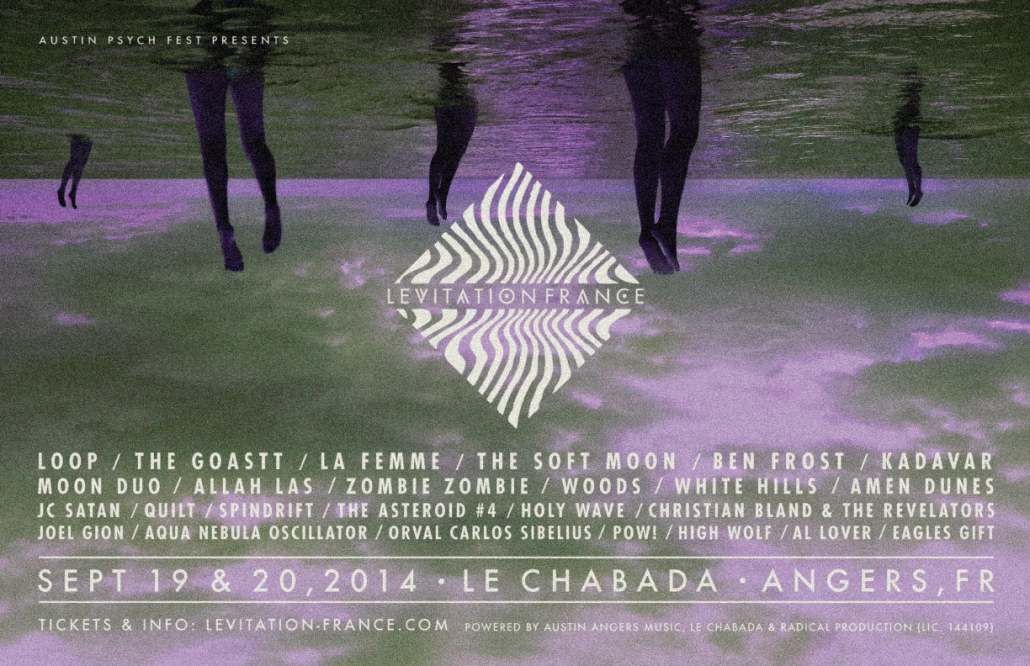 LEVITATION FRANCE – LINEUP ADDITIONS & DAY TICKETS