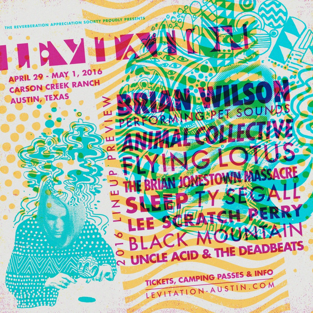 LEVITATION : 2016 LINEUP PREVIEW, TICKETS ON SALE
