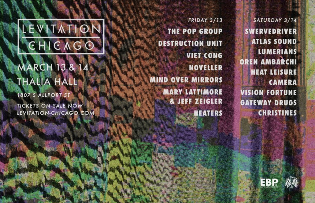 LEVITATION CHICAGO – lineup additions + daily lineups released