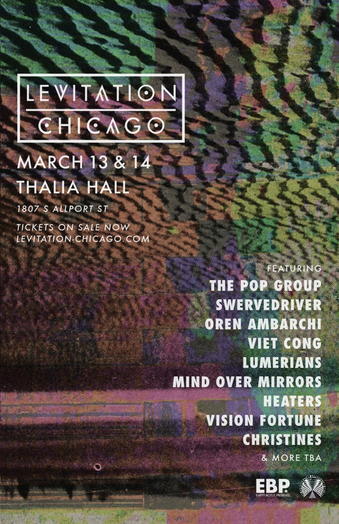 LEVITATION CHICAGO – first announcement
