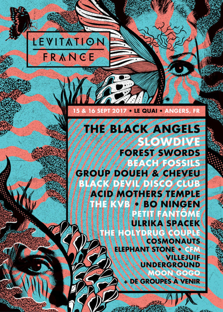 LEVITATION FRANCE – 2nd lineup release!