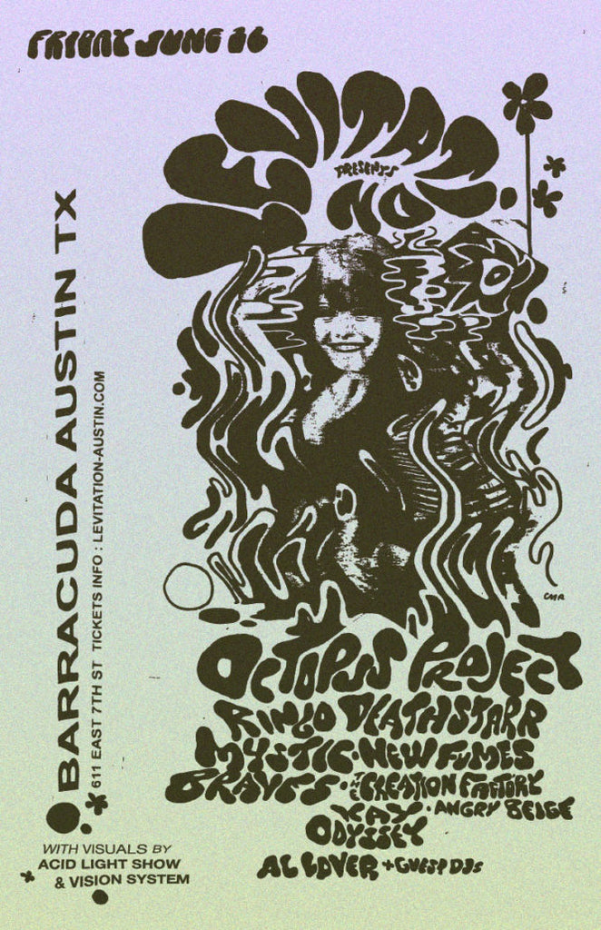 AUSTIN : JUNE 16th – OCTOPUS PROJECT, RINGO DEATHSTARR, MYSTIC BRAVES