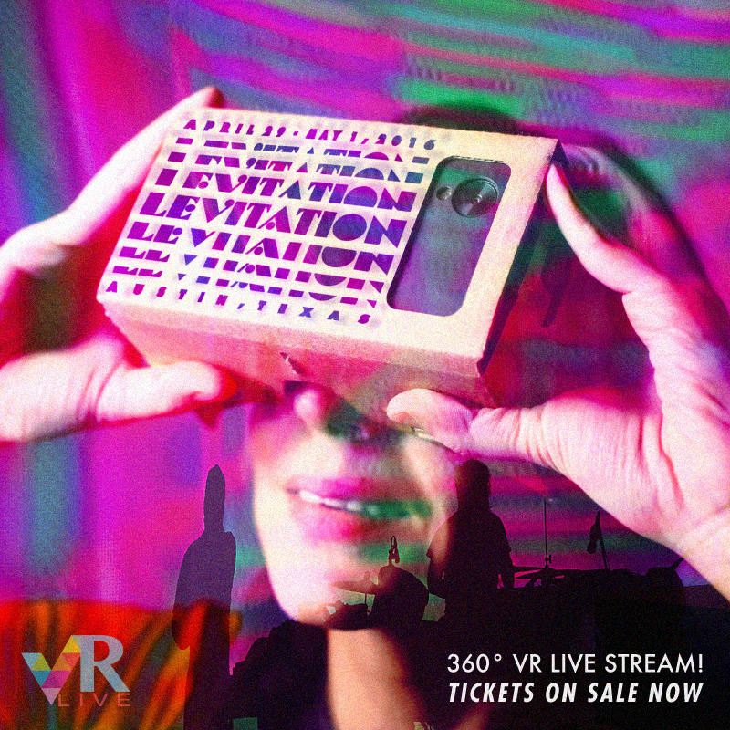 VRLIVE 360 DEGREE STREAM FROM LEVITATION