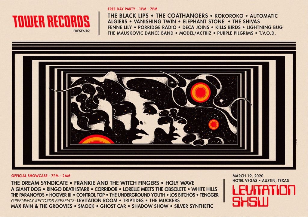 LEVITATION SXSW presented by Tower Records
