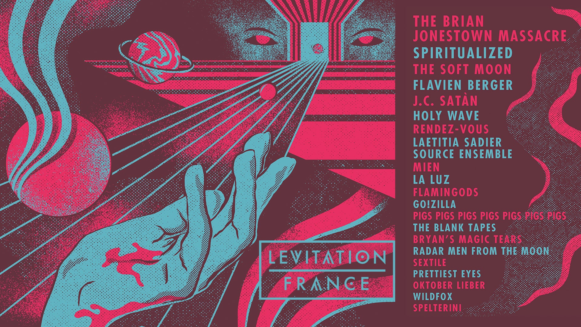 LEVITATION FRANCE 2018 – final additions + schedule