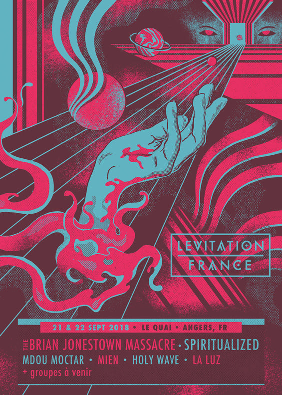 LEVITATION FRANCE – SEPT 21 & 22, 2018 1st Lineup Announcement!