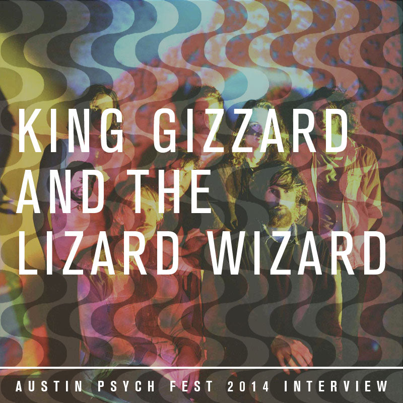 King Gizzard and the Lizard Wizard APF 2014 Official Interview