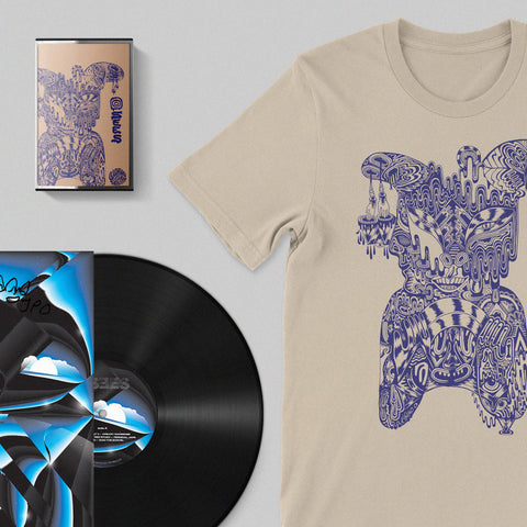 OSEES Signed Vinyl + T-shirt + Cassette BUNDLE