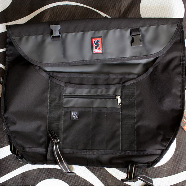 Levitation Chrome Messenger Bag
