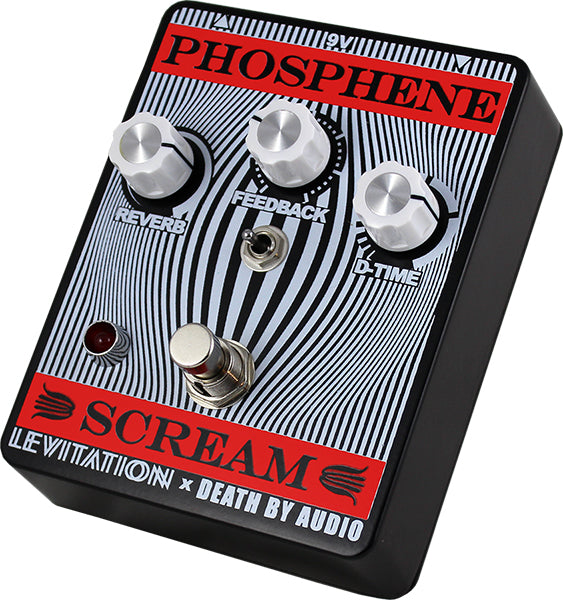 SOLD OUT - Death By Audio - PHOSPHENE SCREAM Delay + Reverb Pedal