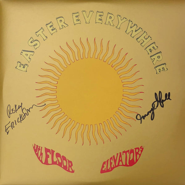 SIGNED - 13th Floor Elevators - Easter Everywhere 2xLP