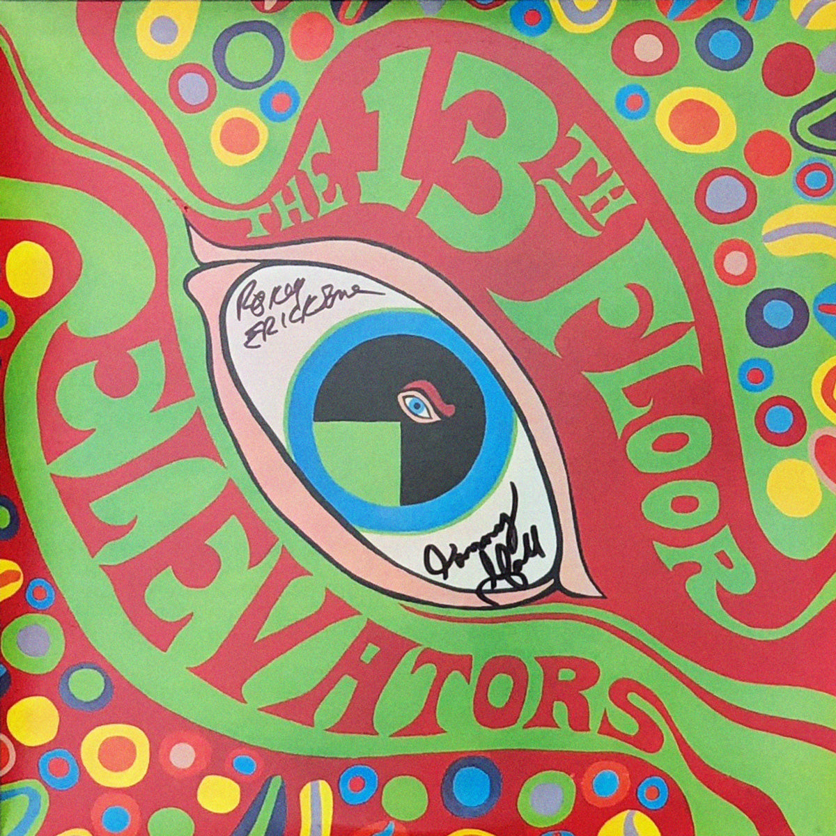 SIGNED - 13th Floor Elevators - Psychedelic Sounds 2xLP – Levitation