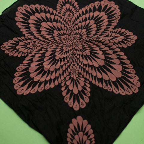 Levitation Black Bandana