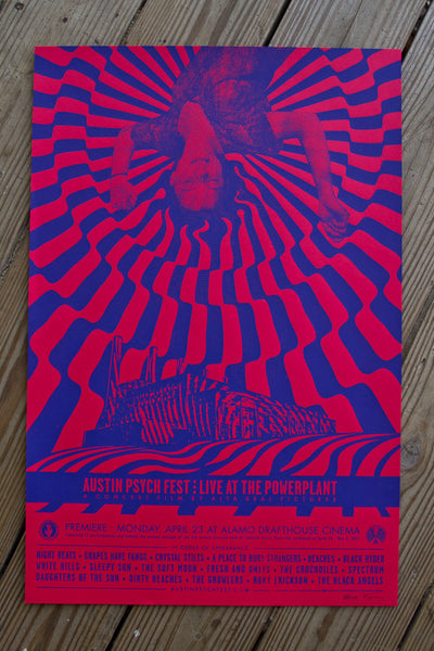 """Live at the Power Plant"" Poster"