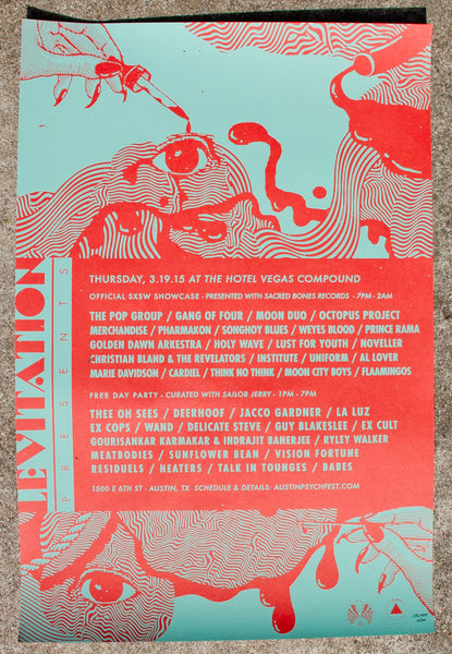 LEVITATION PRESENTS - SXSW HOTEL VEGAS 2015
