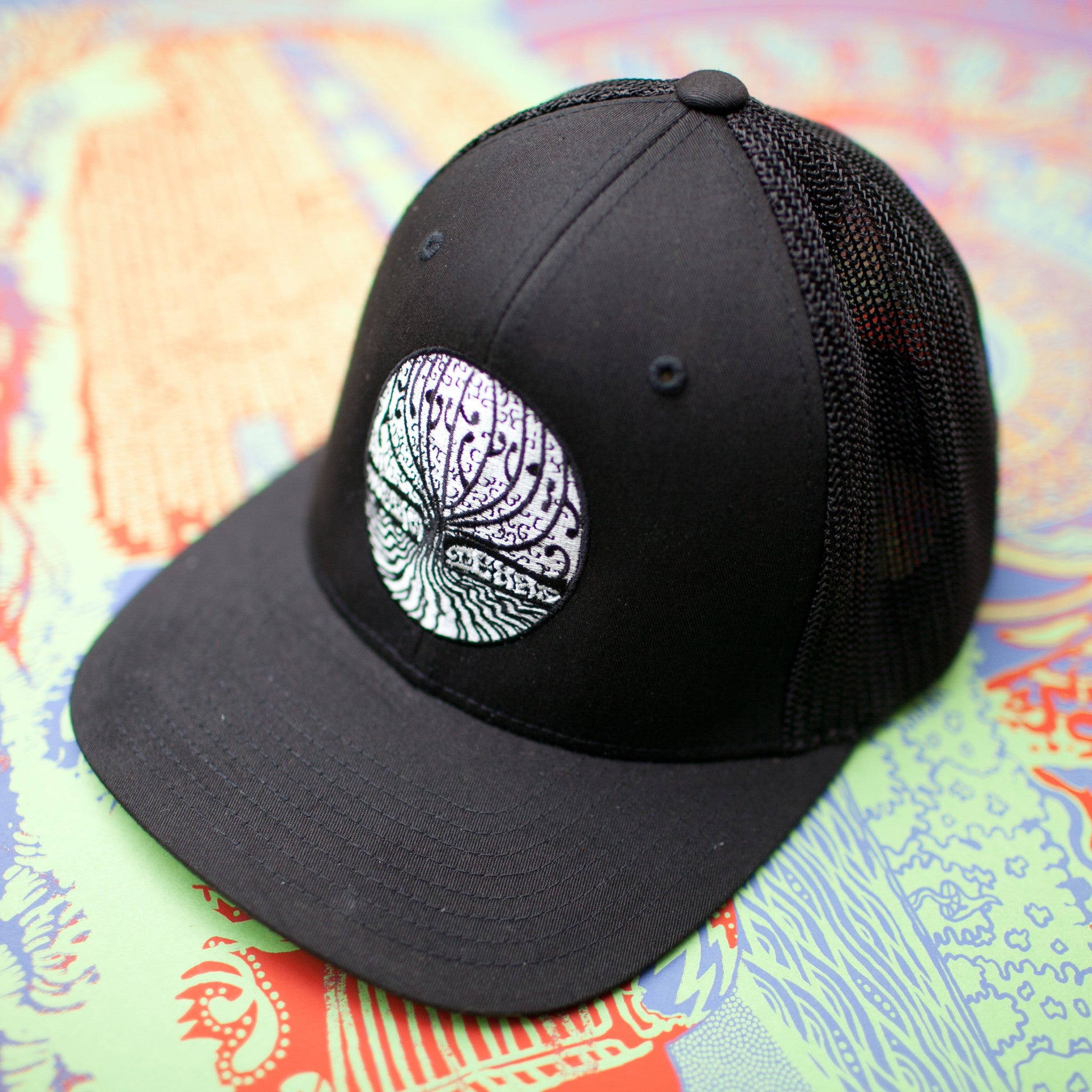 a8a89403 Levitation Tree Embroidered Hat
