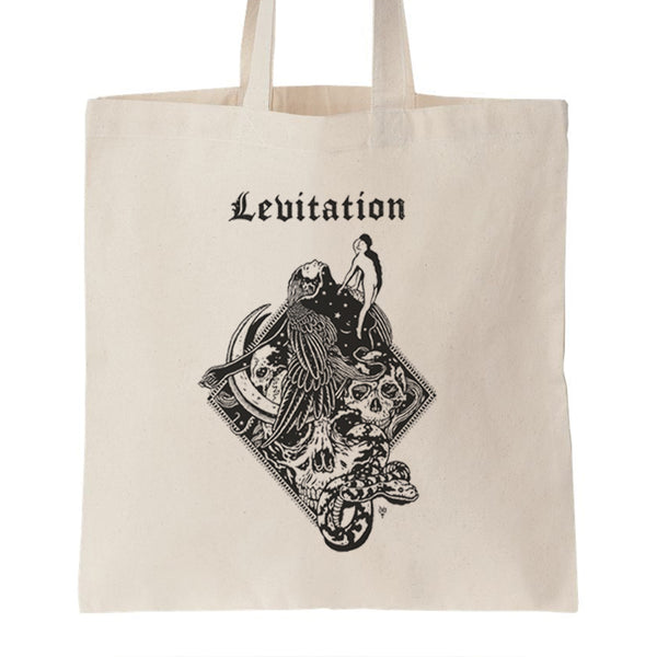 LEVITATION Seraph Record Tote by David V D'Andrea