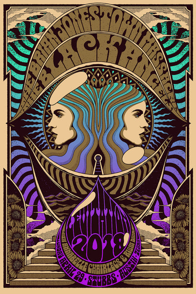 The Black Angels & BJM by Simon Berndt - VARIANT