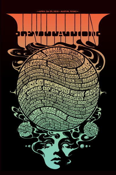 Levitation 2018 Commemorative Poster by Robin Gnista
