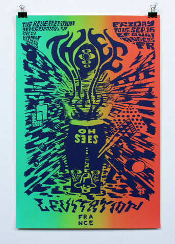 THEE OH SEES - POSTER by CMRTYZ