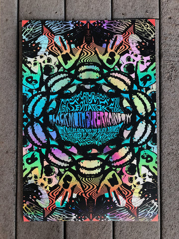 Black Moth Super Rainbow by Nate Duval - Foil Variant