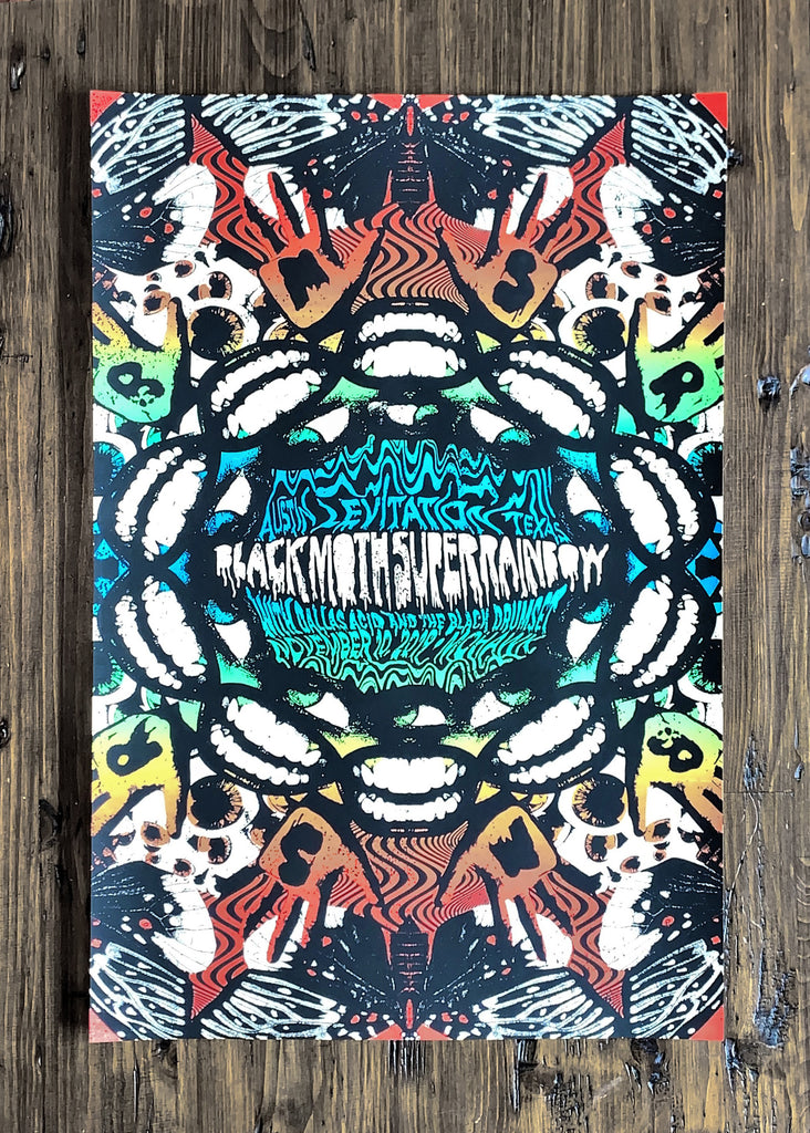 Black Moth Super Rainbow by Nate Duval