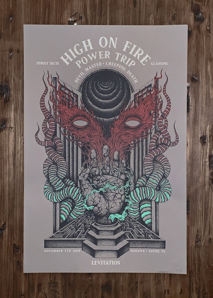 High On Fire & Power Trip by Kuba Sokolski