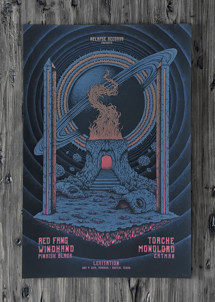 Red Fang, Windhand, Torche, Monolorde and more by Kuba Sokolski