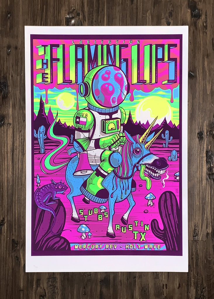 The Flaming Lips, Mercury Rev and Holy Wave by Jim Mazza