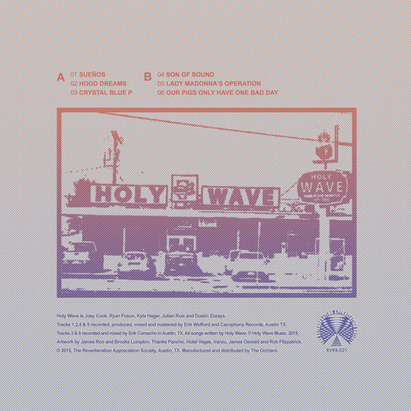 RVRB-021: Holy Wave - The Evil Has Landed Part II 10""