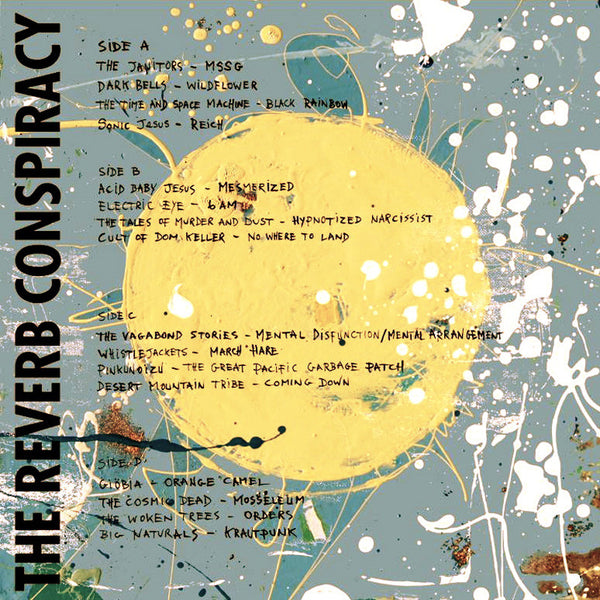 THE REVERB CONSPIRACY - VOL 2 : 2xLP / MP3