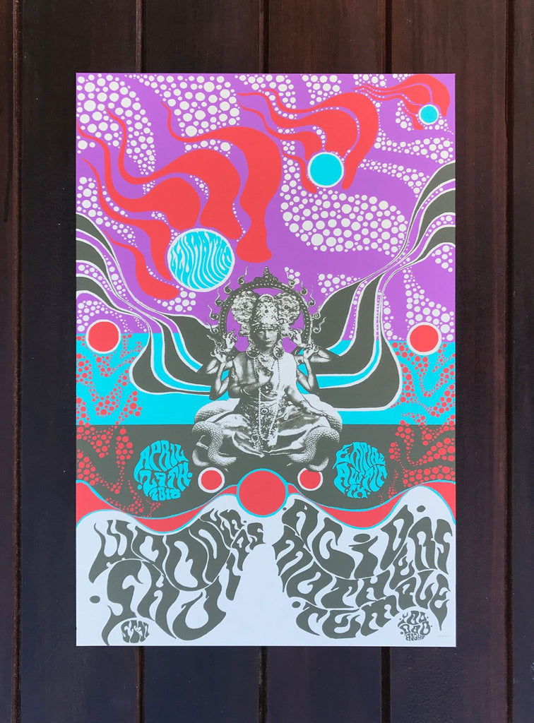 Wooden Shjips & Acid Mothers Temple by Trevor Tipton