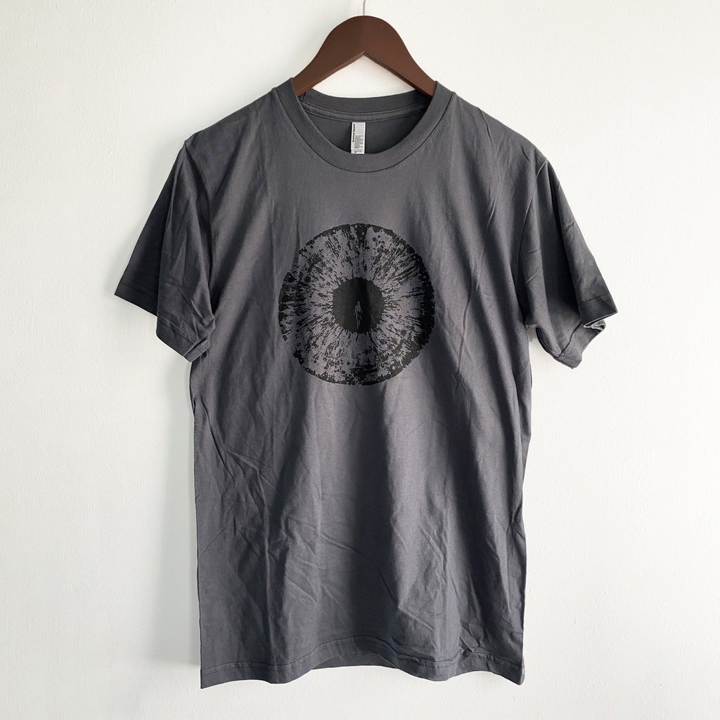 2015 LOGO AND BAND LIST T-SHIRT GRAY