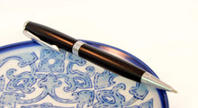 Ebony Pen with Chrome Fittings - Whidden's Woodshop