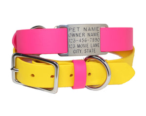 "3/4"" & 1"" Two Tone Waterproof with Nameplate"