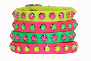Premade Collars from Neon Collection