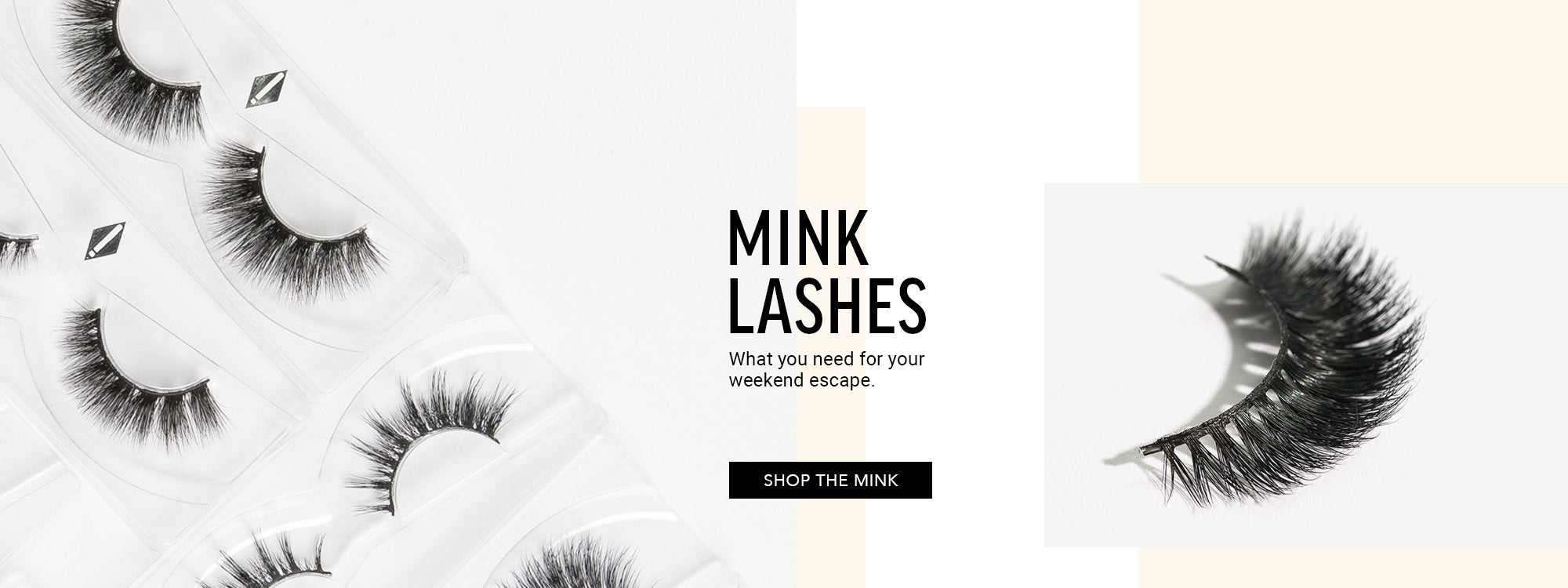 Mink Lashes - Weekend Escape