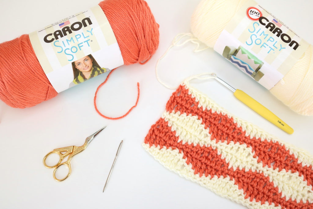 Rolling waves crochet pattern