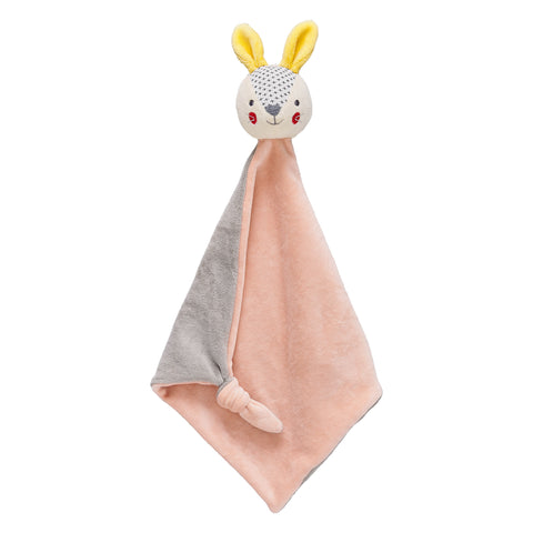 Organic Soft Cotton Bunny Blankie