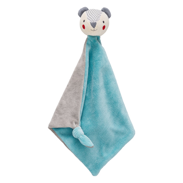 organic soft cotton bear blankie