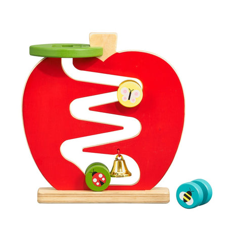 Wooden Apple Run Play Set